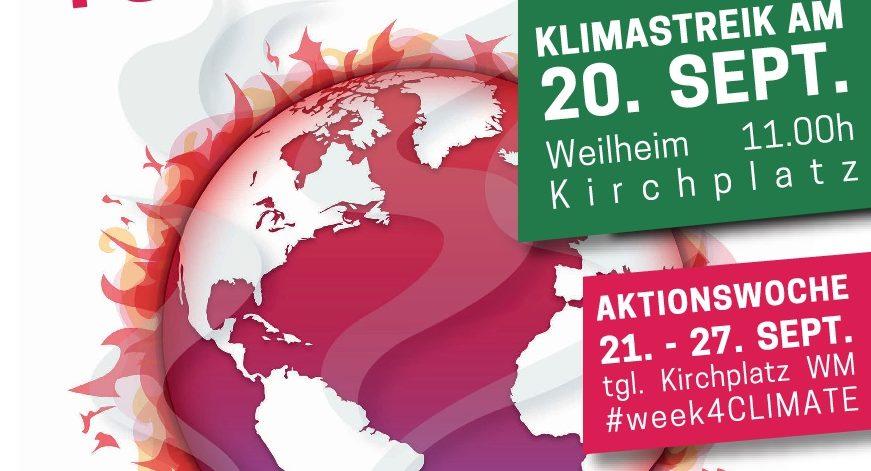 Globaler Klimastreik am 20. September