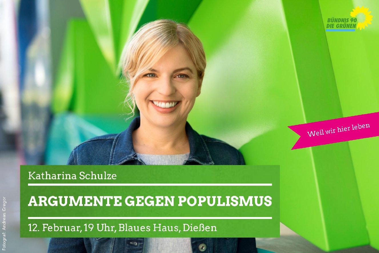 Argumente gegen Populismus – konstruktiver gesellschaftlicher Diskurs in Zeiten von 'Fake News' – mit Katharina Schulze