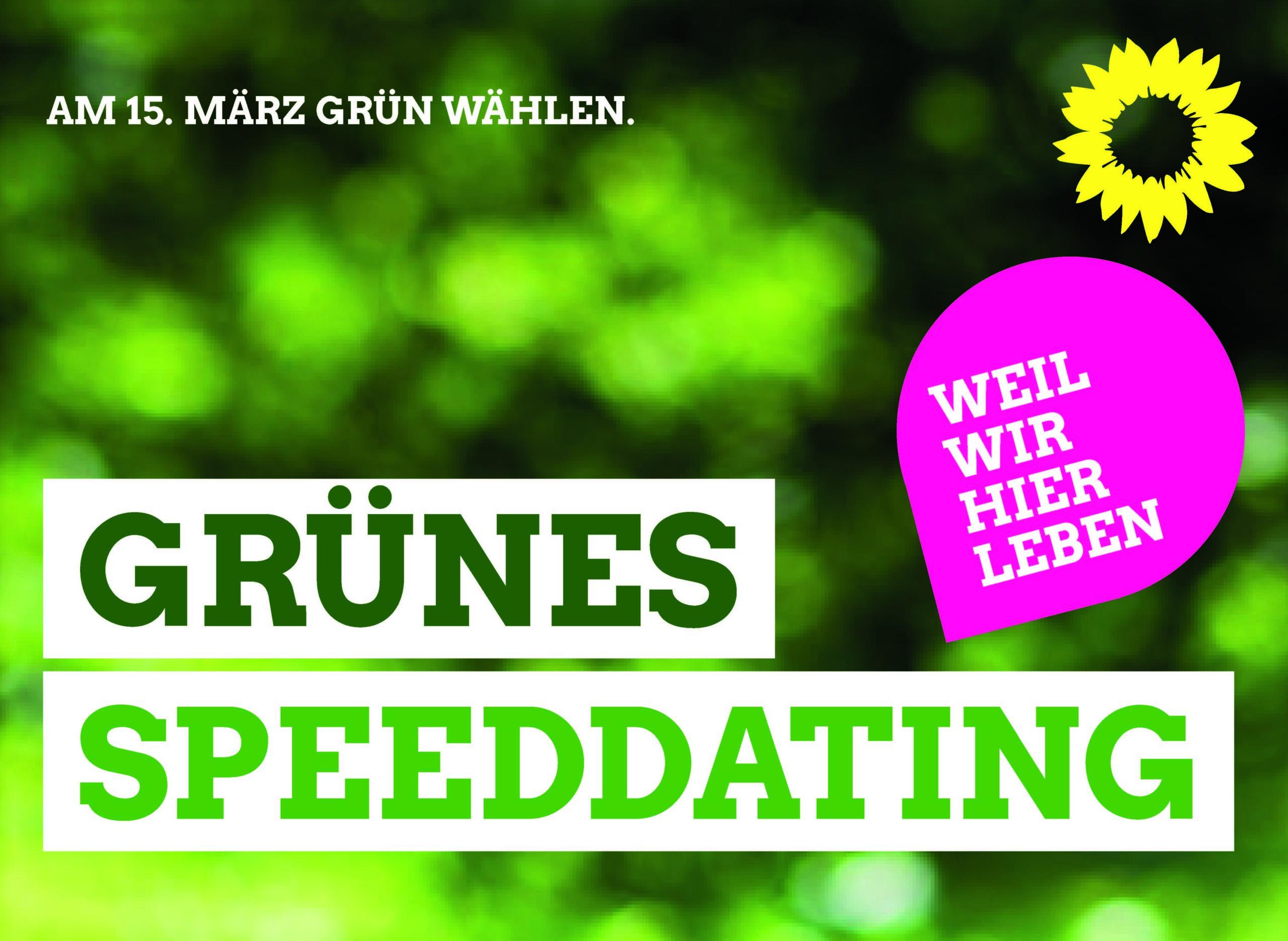 GRÜNES SPEEDDATING