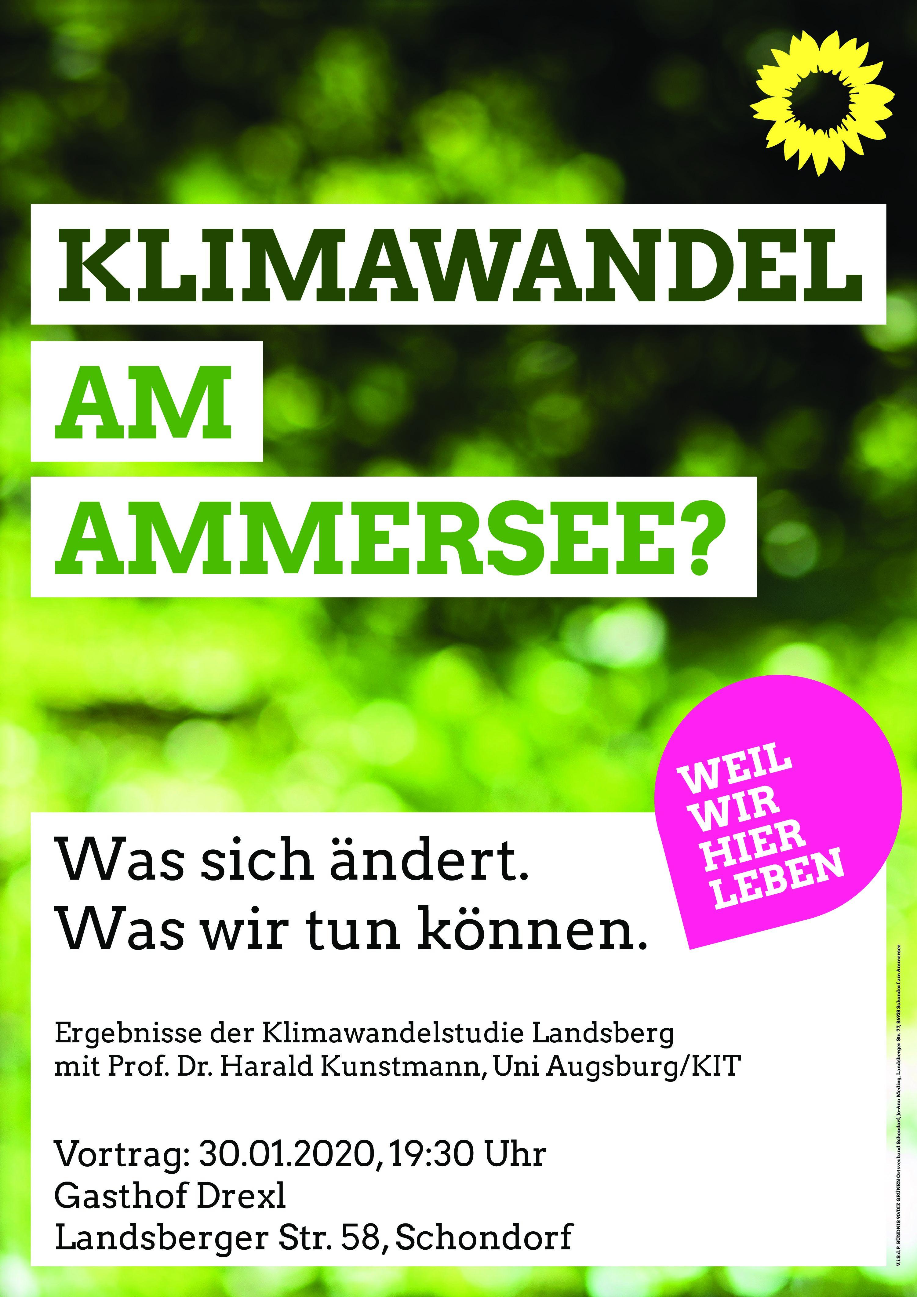 Klimawandel am Ammersee?